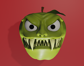 3D Crazy Apple