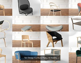 3D Ton Design Furniture Pack scandinavian