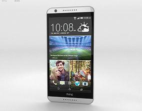 HTC Desire 820 Marble White 3D model