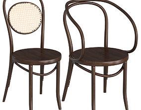 Thonet Chairs 2 3D model