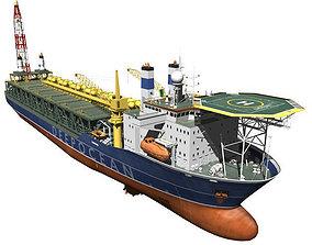 3D model FPSO-vessel