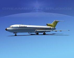 Boeing 727-200 Condor Airlines 3D model