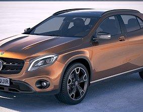 Mercedes GLA 2018 3D model
