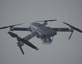 3D asset DJI Mavic pro quadcopter