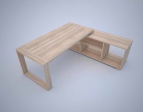 Modern Office Desk writing 3D model