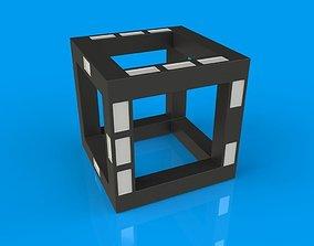 Futuristic Dice 3D print model