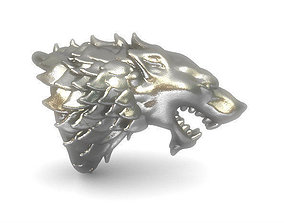 GoT House Stark Heraldry 3D print model