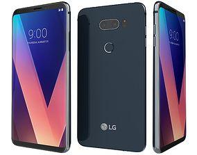 LG V30 Moroccan Blue 3D lg
