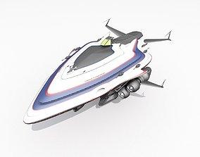 3D model Capital Ship
