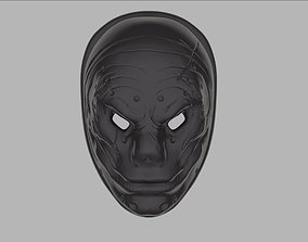 character 3D print model Sokol mask from PayDay 2