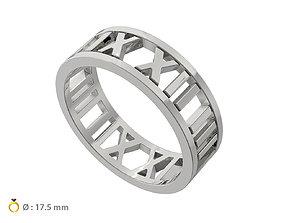 N137 Open Digits Ring 3D printable model