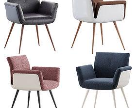 3D chair Cor Alvo variant 1