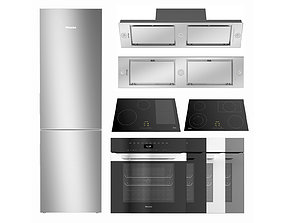 3D Set Of Household Appliances By MIELE 11