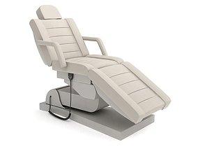 3D model Motorized White Beauty Parlor Chair