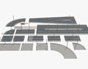 3D model Road Pack - Extended