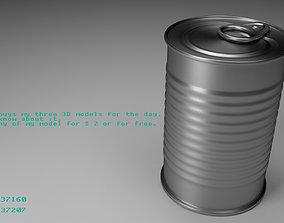 3D model Tin Can 1