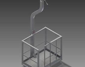 3D model Basket of transport