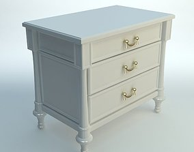 3D model White Nightstand