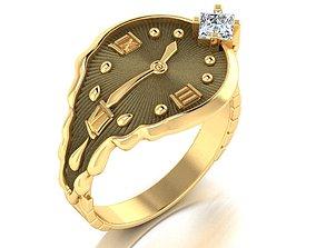 3D print model Ring Soft watch