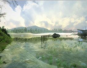 3D model River Terrain