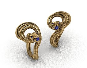 Royal Animal Style Ring 3D print model