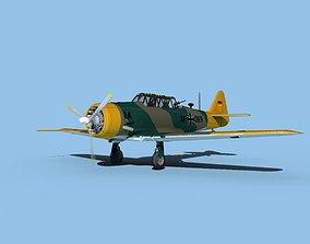 North American AT-6 Texan V06 Luftwaffe 3D