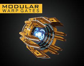 3D model Modular Warp Gates