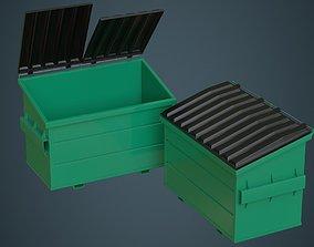 3D model Dumpster 2A