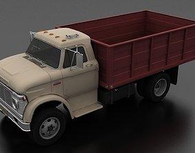 N-Series N-600 Grain Truck 1966 3D model
