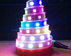 3D printable model BlinkyTape Cone