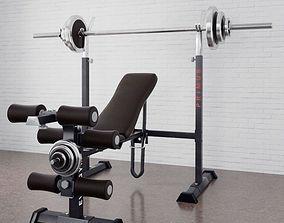 3D Gym equipment 05 am169