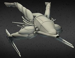 3D printable model Exploration Spaceship