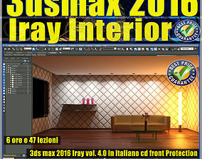 3ds max 2016 Iray Interior Volume 4 Cd Front tutorial