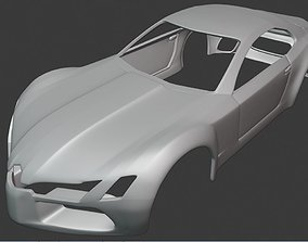 3D print model BODY CAR - MERCEDES BENZ