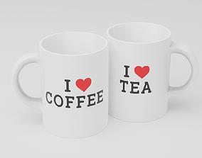 3D model Mug Set
