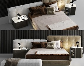 Minotti Lawrence Bed 3D model
