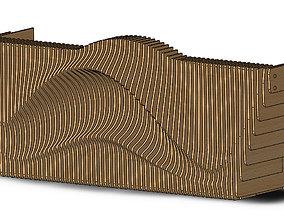 3D model Parametric Reception III