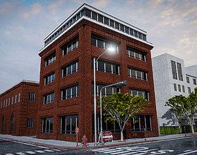URBAN CITY BUILDING 5 3D asset