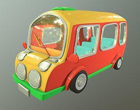 Asset - Cartoons - Bus - 3D Model