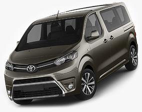 3D model Toyota Proace Verso