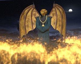 Dragon Priest Character 3D asset