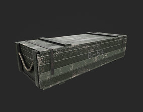 3D Military Crate packaging