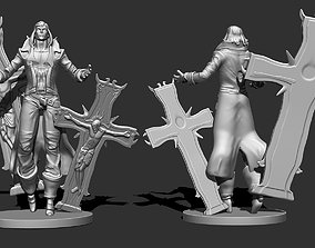 Richter from Castlevania 3D print model
