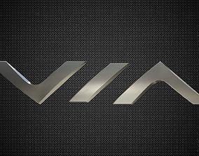 via motors logo 3D model