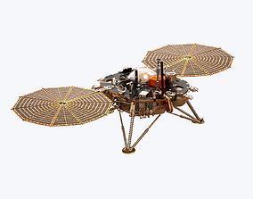 InSight Mars Lander 3D model PBR