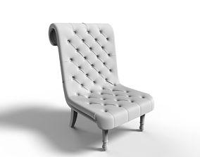 Miniature 3d Print Ready Chair 03