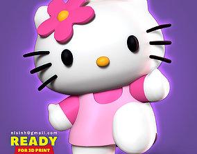 Hello Kitty kitten 3D print model