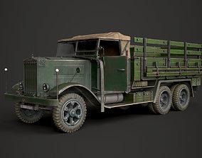 WW2 German Krupp L3H163 Truck 3D model