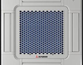 3D model AIR CONDITIONER CASSETTE MITSUBISHI HEAVY FDTC-VH