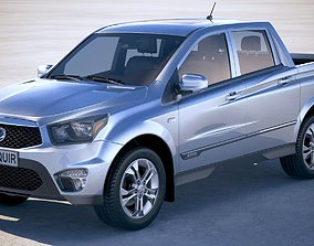 SsangYong Action Sports 2013-2018 3D model